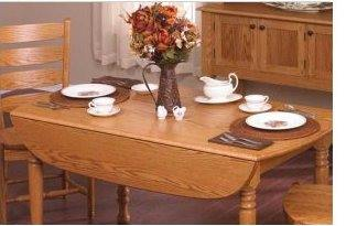 Drop Leaf Table Plans - Folding Table Plans - Free Woodworking Plans