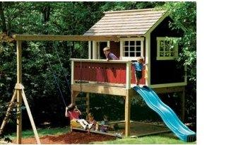 Free Playhouse Plans   Build a Playhouse   Free Plansplayhouse plans