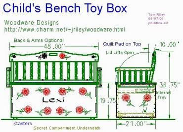 toy-boxes plans