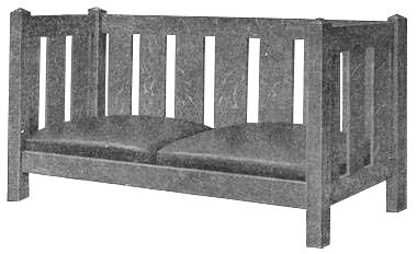 Settee Bench   Plans