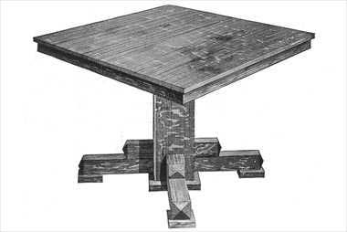An   Extendable Dining Table