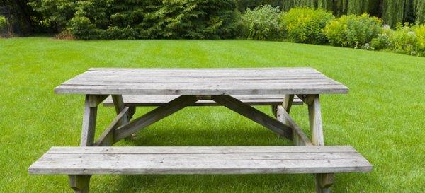 Free Picnic Table Plans WoodworkingPlansFreecom - 6 sided picnic table