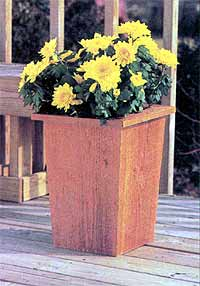 Tapered Planter Box