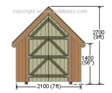 Board-and-Batten Shed