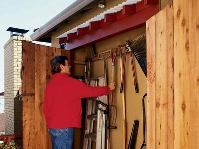 Under-Eaves Storage