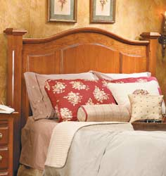 Arch-Top Headboard Plans