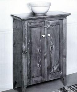 New England Pine Cabinet