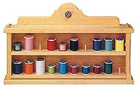 Sewing Thread Holder Shelf
