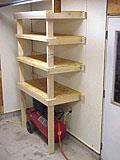 Shelving for a Garage