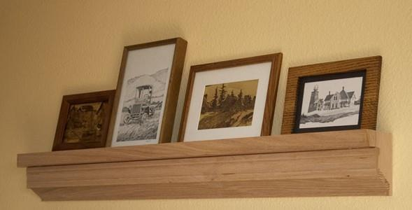 Picture Shelf Plans