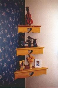 Country Corner Shelves