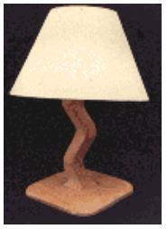 Crooked Bedside Lamps