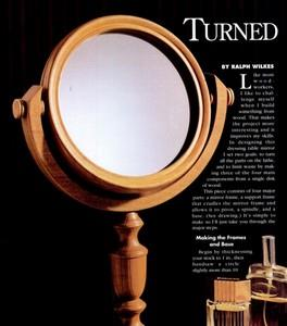 Turned Mirror
