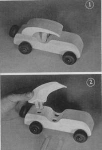 Toy Car with Removable Roof